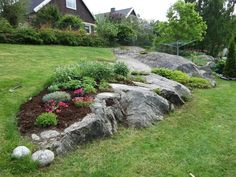 Take a look at this significant graphics as well as read today information and facts on Home Landscaping Ideas Landscaping With Boulders, Stone Landscaping, Landscaping Retaining Walls, Modern Landscaping, Garden Landscaping, Landscaping Ideas, Mulch Ideas, Landscape Walls, Garden Landscape Design