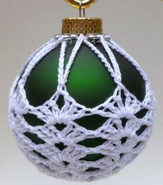 Items similar to Crochet Christmas Ornament Green Victorian Ornament White Crochet on Etsy Crochet Christmas Decorations, Christmas Crochet Patterns, Holiday Crochet, Crochet Patterns Amigurumi, Christmas Crafts, Crochet Snowman, Crochet Ornaments, Crochet Snowflakes, Crochet Ball