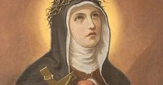 Saint Veronica Giuliani's (1660-1727) desire to be like Christ crucified was answered with the stigmata. Veronica was born in Mercatelli. It is said that when her mother Benedetta was dying she called her five daughters to her bedside and entrusted each of them to one of the five wounds of ...