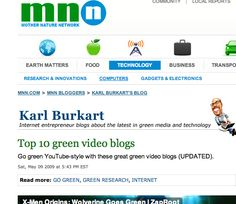 Who're the Greenest Video Blogs of them all? elephantjournal.com & elevision, now called Walk the Talk Show with Waylon Lewis, makes the list courtesy Karl Burkart of Green Dig and mega green site MNN. May 9, 2009