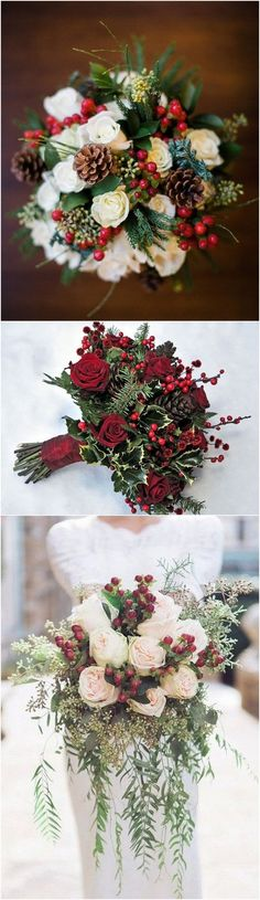 Christmas themed winter wedding ideas #wedding #christmas #winterwedding