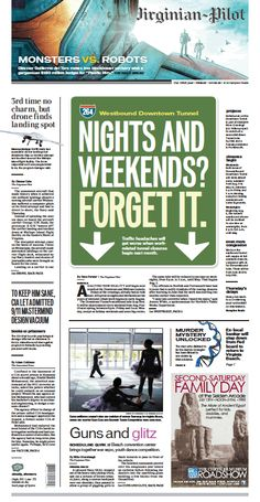 The Virginian-Pilot's front page for Friday, July 12, 2013.