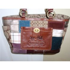 bb766017aae7 Pre Owned Women Coach Patchwork Shoulder Handbag Purse  Coach  ShoulderBag  Coach Shoulder Bag
