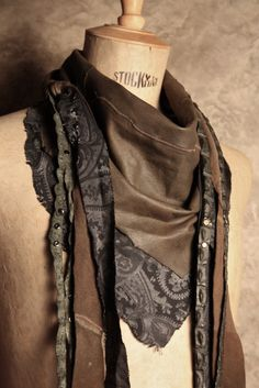 -PN\P: SCUNZANI FW 12-13 LEATHER SCARF