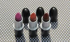 The Matte Lip Collection: meus três novos batons da MAC