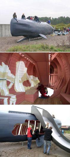 El cachalote Monstrum parques infantiles 10