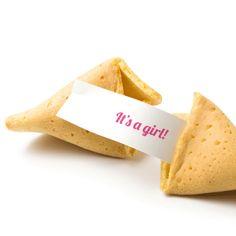 Gender Reveal Fortune Cookies