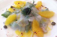 Best Restaurants in Istria: fish carpaccio
