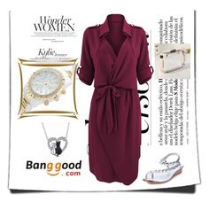 """5# Banggood"" by hazreta-jahic ❤ liked on Polyvore"