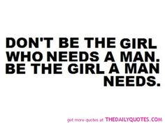 Don't Be The Girl………