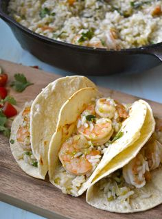 20-Minute Cilantro Lime Shrimp & Rice