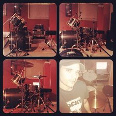richard and the drums