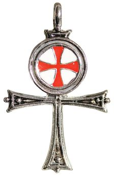 It is believed that during their many crusading expeditions, the Knights Templar were initiated into the mysteries of ancient Egypt and preserved those ancient symbols and ways, using this knowledge in sevrect magickal ceremonies. The wearer of the Templar Ankh is a true seekers of Self-Mastery and Immortality.