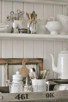 vintage #decor #cottage #country #interiors