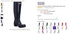Las mejores botas hunter para mujer en oferta!!! #hunter #botas #botasdemujer #atrapatuchollo #ofertas #chollos