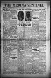 The Medina sentinel. (Medina, Ohio) 1888-1961, April 30, 1915, Image 1, brought to you by Ohio Historical Society, Columbus, OH, and the National Digital Newspaper Program.