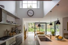 Stockwell House by David Mikhail Architects #kitchen