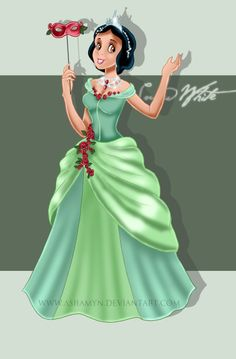 Masquerade Snow White - disney-princess Fan Art