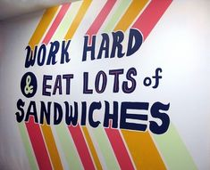Will Bryant #mural #typography