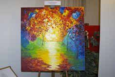 """dipinto ad olio su tela 100x100 titolo  """"Cercami"""""""