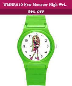 WMHR010 New Monster High Wristwatches Kid Boy Girl Children Xmas Gift. SHIPPING - We ship FREE SHIPPING. - Your item will be shipped within 48 hours except holiday of receiving your cleared payment. - Delivery times normal take approximately 14-30 working days. ** We utilize many warehouses around the world. If you order two or more products from us,they may ship separately. ** If you are not satisfied in any regard, please tell us before you take any action so that we can work out the...