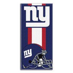 Northwest Co. NFL New York Giants Zone Read Beach Towel