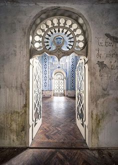 Abandoned...'From room to room' by GregoireC - www.gregoirec.com via Flickr, The Moorish Castle in Gibraltar.