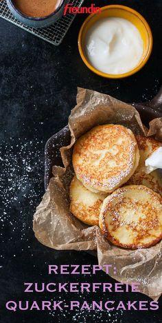 Wer sich figurbewusst ernähren möchte, muss keinesfalls auf Pancakes verzichten. Mit Haferflocken und Quark werden sie zum Power-Frühstück