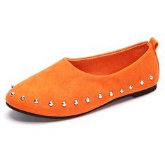 Hot-sale Big Size Color Match Soft Comfy Ballet Pattern Casual Flat Shoes  - NewChic Mobile.
