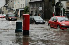 Kendal 2012 - Flooding has hit Kendal after today's heavy rain.