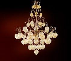 Corbett Lighting Pendant Fixture, Venetian Ceiling Mount Hanging