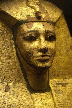 Golden Egyptian Mask by Meleager, via Flickr