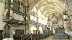 Die Bergkirche St. Marien zu Schleiz. Viele Fotos - Innenaufnahmen der Kirche.