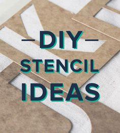 Start crafting with stencils!
