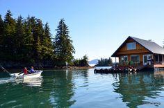 Wannigan (Floating Cabin) near Cordova, Alaska