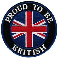 union jack clothes and shoes for babies | ... Patch English Union Jack Flag Iron-On UK Biker Emblem: Clothing