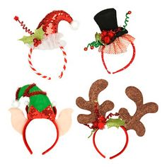 Christmas Character Headbands