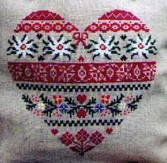 My favorite French needlework, looks pretty Swiss to me :)