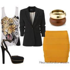 I need a mustard skirt... STAT!