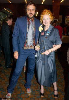 Vivienne Westwood with Andreas Kronthaler