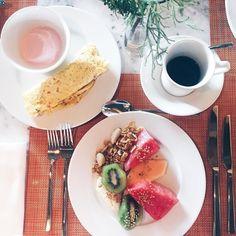 Bom dia do café da manhã do @grandhyatt_rio!  #grandhyattrio @fhits #fhitsrio