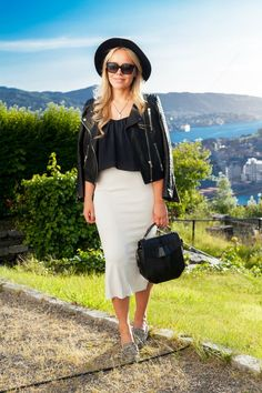 Summer Night Look | Cath in the City Fashion Blog | Norway