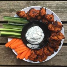 Kukkakaaliwingsit – Vegelicious Cauliflower Wings, My Cookbook, I Love Food, Tandoori Chicken, Food And Drink, Healthy Recipes, Healthy Food, Veggies, Appetizers