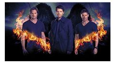 Supernatural Burning Gate Poster New Maxi Size 36 x 24 Inch