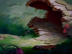Animation Backgrounds: BAMBI