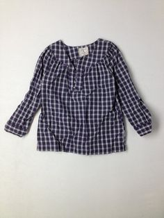 Girls size 4 Lands End Long Sleeve Shirt