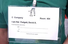 VMI Upper Class Cadets don't get lost, but Rats do early on. Welcome to VMI, Rats!
