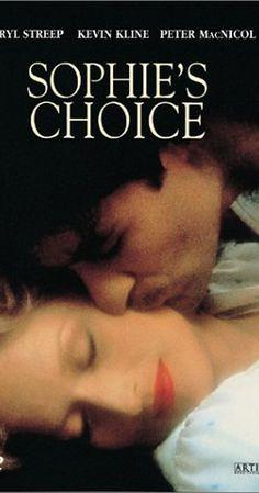 a beautiful, sensitive, tragic film, directed by Alan J. Pakula
