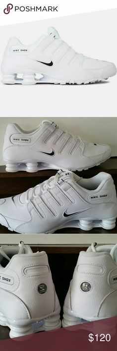 New Size 11.5 Nike Shox NZ EU Running Shoes White New with the box. Nike Shoes Athletic Shoes