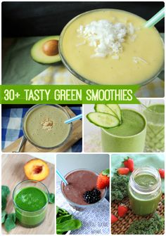 30+ Green-Smoothies